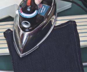 Ironing Jeans Hem image