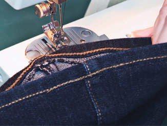 Shorten Jeans and Keep Original Hem image