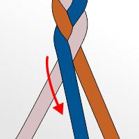 Braiding Step 5 image