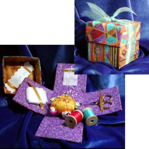 Fabric Gift Box Pattern