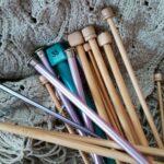 Knitting Needles of Various Sizes image