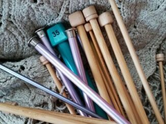Knitting Needles of Various Sizes image
