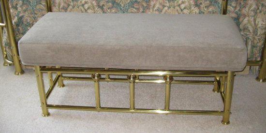 Reupholstered Bench