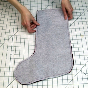 Interfacing in a Christmas Stocking image