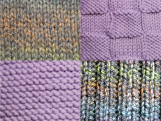 Knitting Stitch Examples image