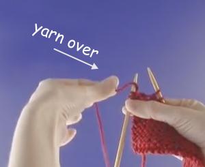 Yarn Over Left Handed image