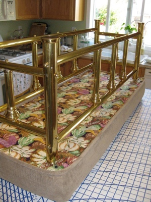 Bottom of Upholstered Bench