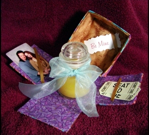 Open Fabric Gift Box image