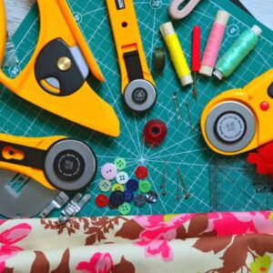 Buttons Fabric Cutters Thread image