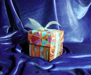 Fabric Gift Box image