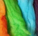 Dyed Wool Roving image
