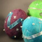 Felted Easter Eggs image