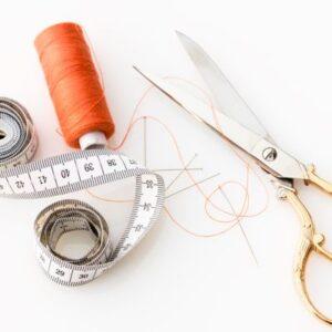 Scissors Thread Tape Measure image