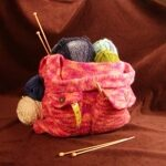 Felted Tote Bag Knitting Pattern image