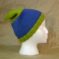 Fitted Hat Knitting Pattern image