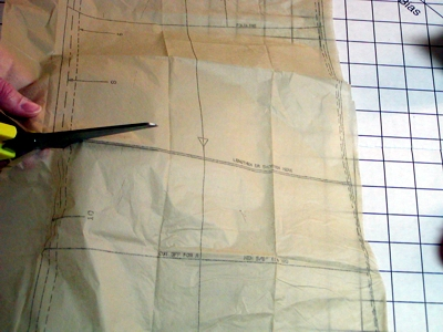 sewing pattern adjustment image
