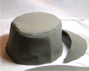 Imperial Officer Hat Assembly, Fig 10