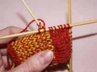 Knitting Sock Pattern Pick Up Stitches