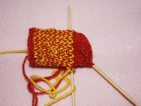 Knitting Sock Pattern Shaping the Heel