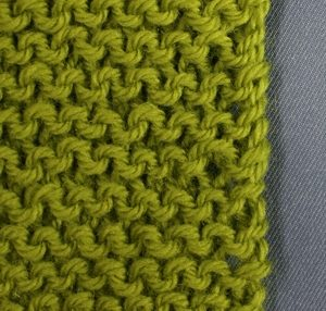 Knitted Knotted Edge image