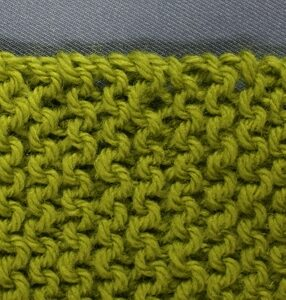 Knitted Knotted Edge