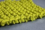 Knitted seam edge image
