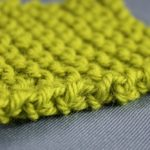Knitted seam edge image