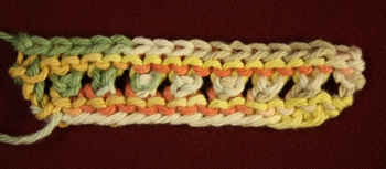 Knitted Eyelets in Garter Stitch image