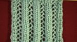 Lacy Knit Pattern Front image