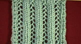 Lacy Knit Pattern Front