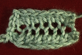 Lacy Knit Stitches