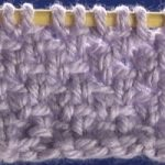 Linen Knit Stitch Example image