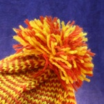 Completed pom pom