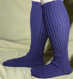 Adult Wide Calf Knee High Sock