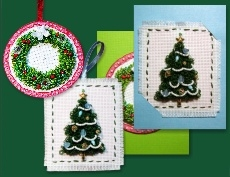 Christmas Punch Needle Designs image
