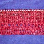 Rib Knit With Eyelets