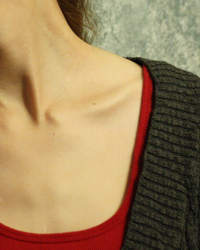 Ribbed Sweater Neckline image