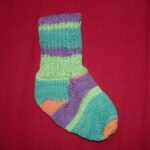 Knitted Newborn Sock image