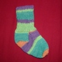 Knitted Toddler Sock image