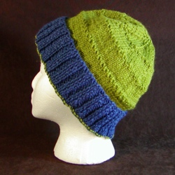 Loose Hat Knitting Pattern