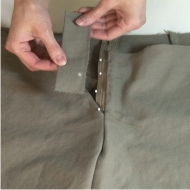 Pinning Trouser Zipper image