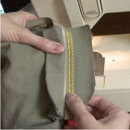 Where To Sew Pants Zipper image