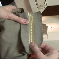 Where To Sew Pants Zipper